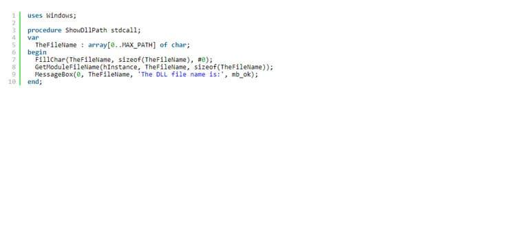 Как узнать полный путь и имя файла загруженной DLL